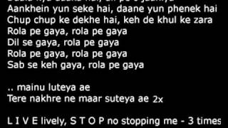 Rola Pe Gaya Patiala House (Full) Lyrics HQ