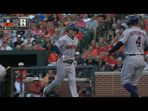 HOU@BAL: Bregman slugs two-run homer for...