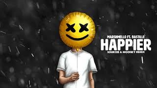 Marshmello Feat. Bastille - Happier (Sourcee & Moonky Remix)