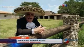 Vicente Fernández canta en campaña presidencial de Hillary Clinton