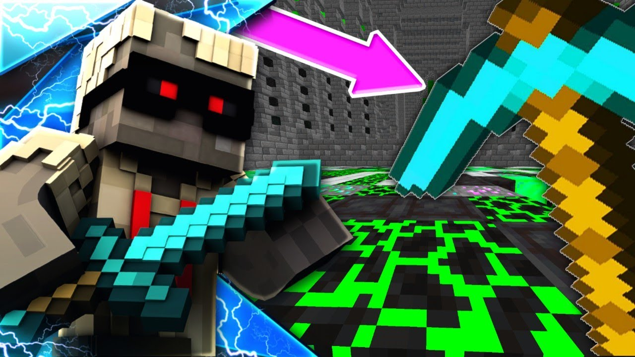 How to make a op pickaxe in minecraft pe