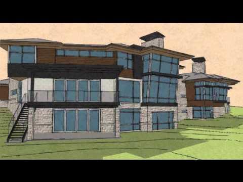Sketch-Up animation of custom residence