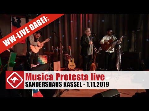 Musica Protesta  - Ein chilenischer Abend im Sandershaus