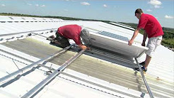 Commercial Solar Installation from Westville