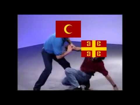 Byzantium vs Ottomans in a nutshell