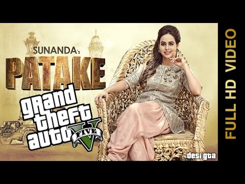 Patake || Sunanda Sharma || GTA 5 Music Video