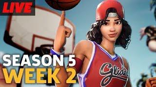 Fortnite Season 5 Week 2 Basketball Challenge and More
