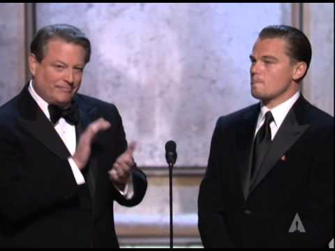 Al Gore and Leonardo DiCaprio Make an Announcement