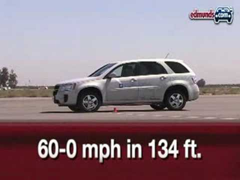 2008 Chevrolet Equinox FCEV Fuel Cell | Full Test | Edmunds.com