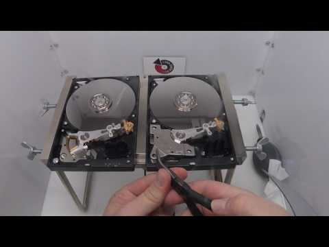 Western Digital WD10EARS Head Swap - Affordable Clean Room Data Recovery by $300 Data Recovery