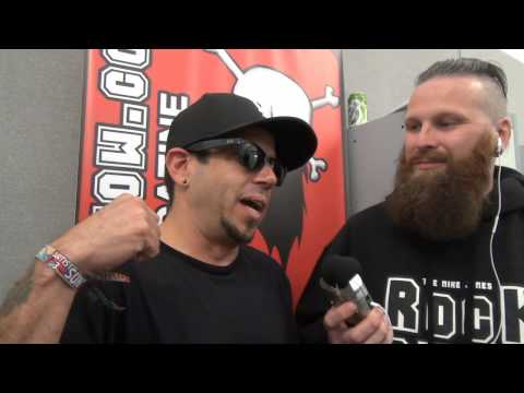 Crazy Town Interview Download Festival 2014