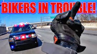 COOL \u0026 ANGRY COPS VS BIKERS 2020 | POLICE + BIKERS = TROUBLE!!!