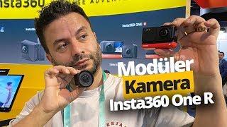 Modüler, 360 derece YouTuber kamerası Insta360 One R!