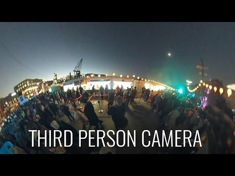 360° Third Person Camera Setup at Wellington Night Noodle Markets