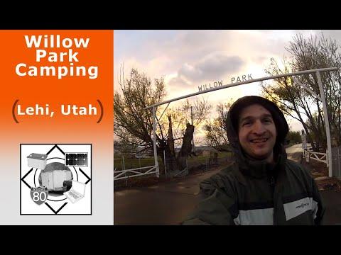 Willow Park Camping In Lehi, UT
