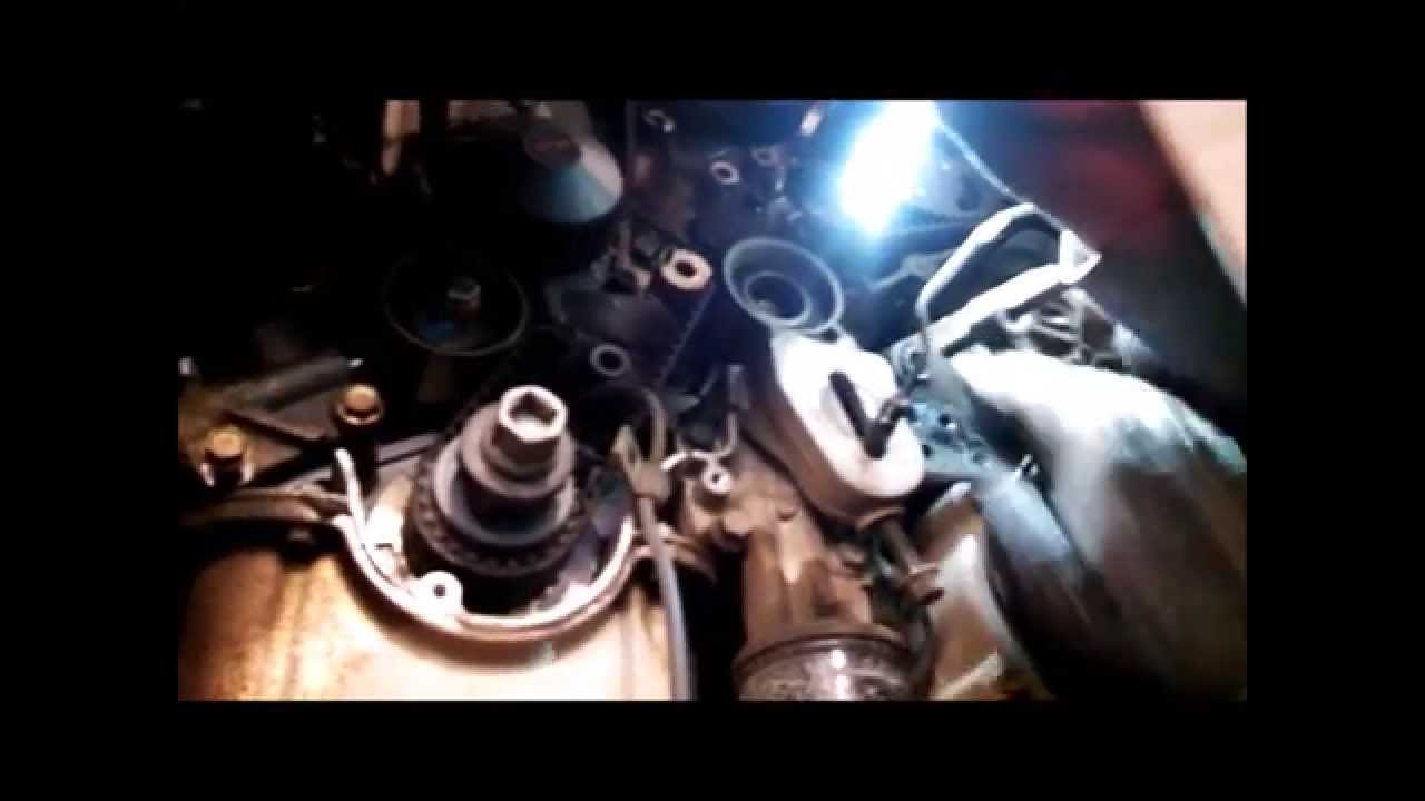 Timing belt replacement water pump 2005 Kia Sedona 35L V6