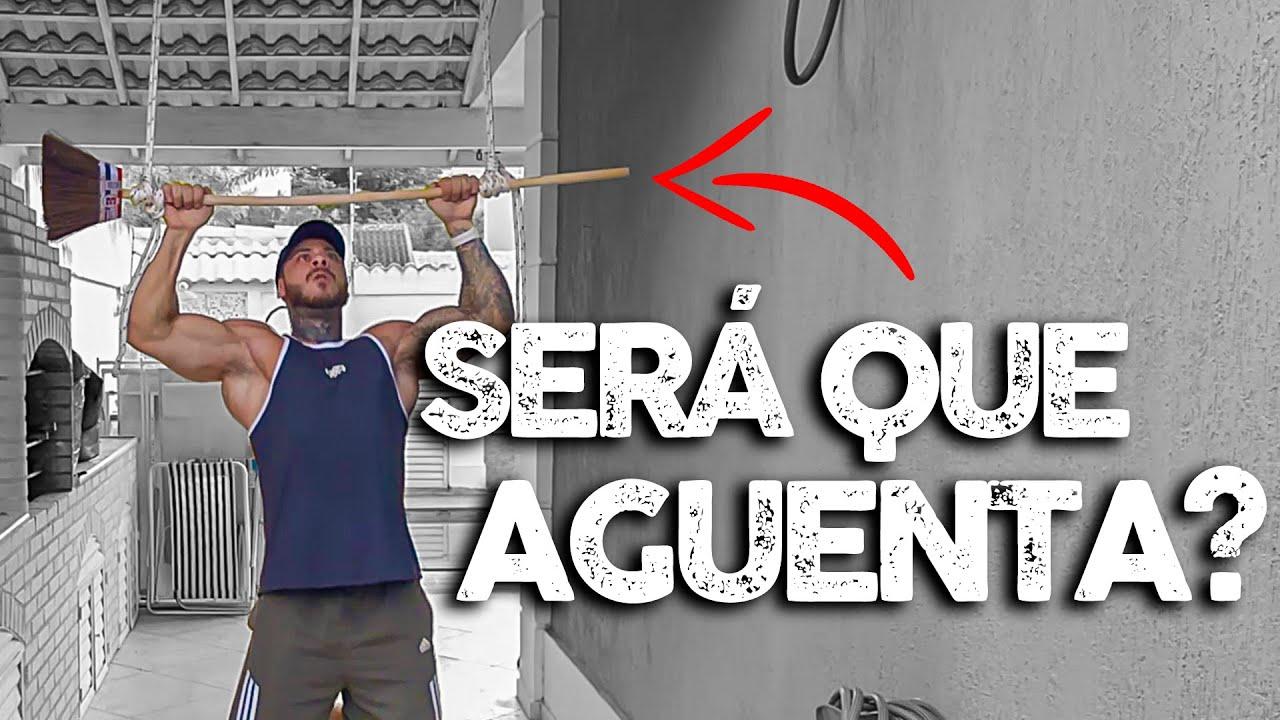 COMO TREINAR EM CASA SEM EQUIPAMENTOS - LEO STRONDA