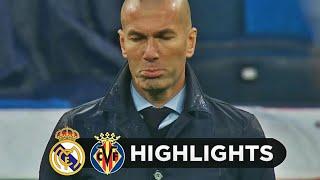 Real Madrid vs Villarreal 0-1 - All Goals & Extended Highlights - La Liga 13/01/2018 HD