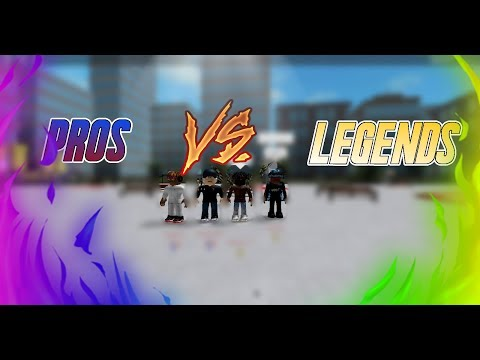 Pros Vs Legends || RBW2