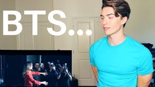 Singer Reacts to BTS (for the first time)- Waste It On Me (Official Video) (Steve Aoki)