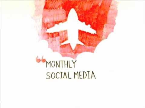 How airlines dedicate resources to social media - Videographic by SimpliFlying
