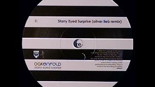 {Vinyl} Oakenfold - Starry Eyed Surprise (Oliver Lieb Remix)
