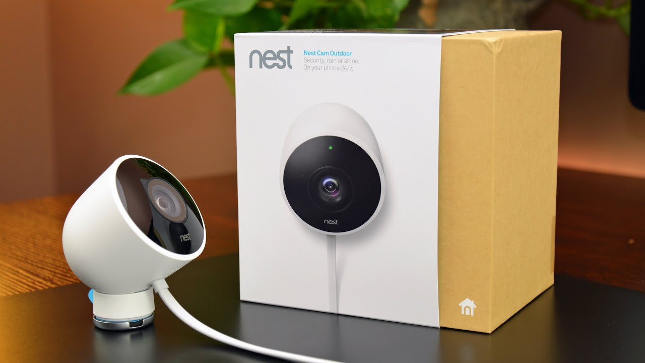 nest cam outdoor unboxing overview youtube. Black Bedroom Furniture Sets. Home Design Ideas
