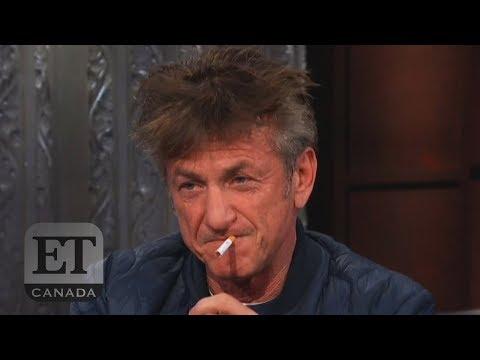 Sean Penn's Bizzare Colbert Interview