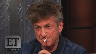 Sean Penn's Bizzare Colbert Interview