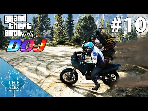 GTA V Department Of Justice #10 - Up the mountain - Civilian
