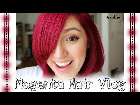 Adore Magenta #88 Hair Vlog | CraftyAmy