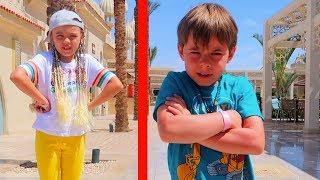 Bogdan si Jasmina  s-au CERTAT   Sketch de la Bogdan's Show   Video for Kids