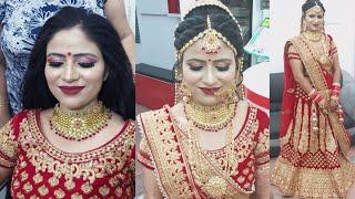 Best bridal makeup look for dark skin in summer( step by step)