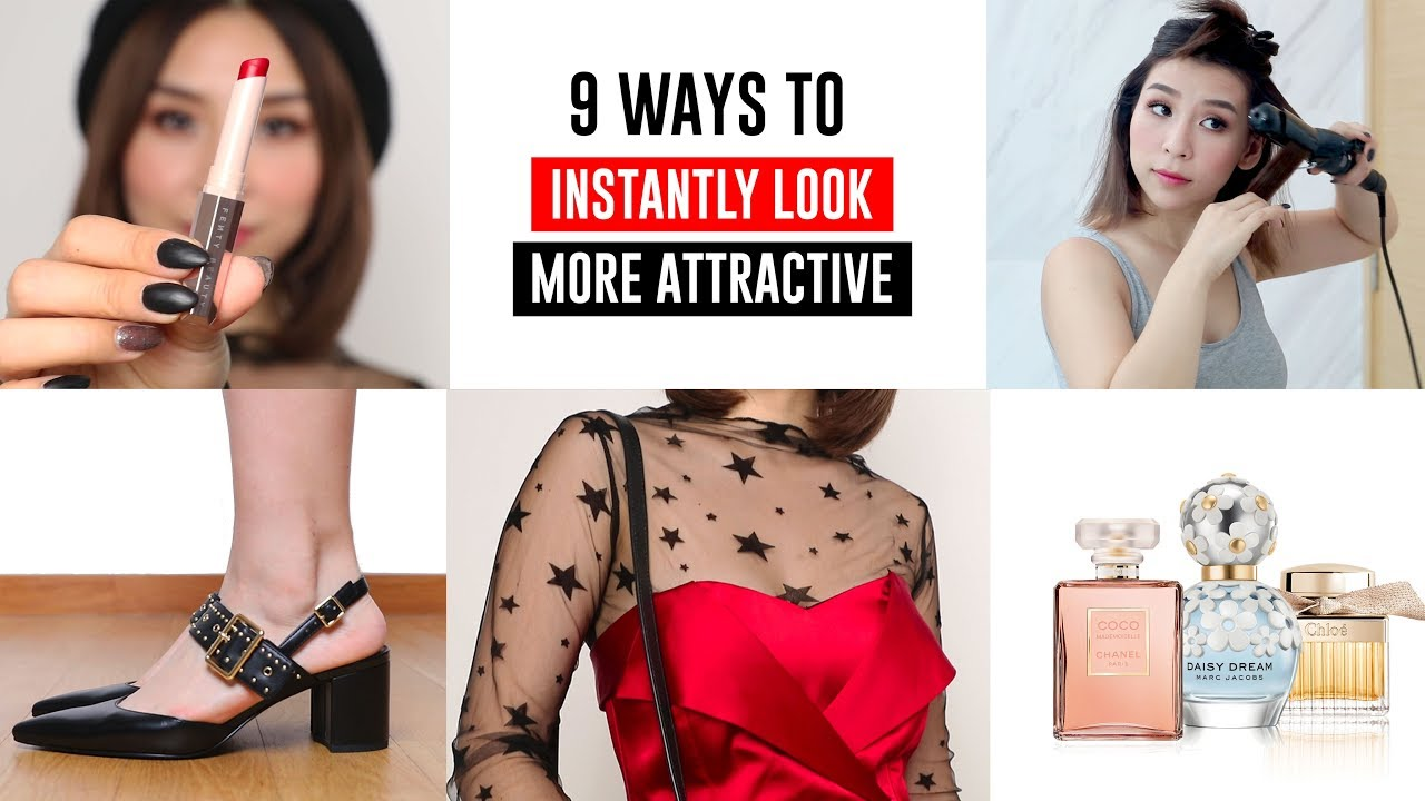 9 Ways To Look Instantly More Attractive – Tips and Tricks