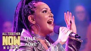 All Together Now Norge | Tina fremfører Alive av Sia | TVNorge