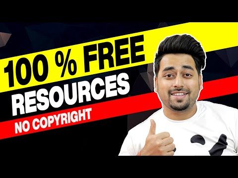 Best Free Websites For Graphic Designers - 100% Free Design Resources For Commercial Use 2020 HINDI