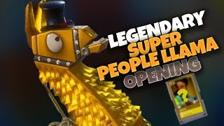 SUPER PEOPLE LLAMA IS LAME ! Fortnite - Save the World