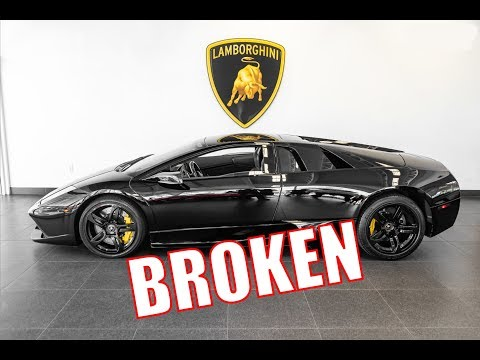 Lamborghini Murcielago is Broken, How to fix