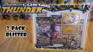 Lost Thunder 3-Pack Blister Opening