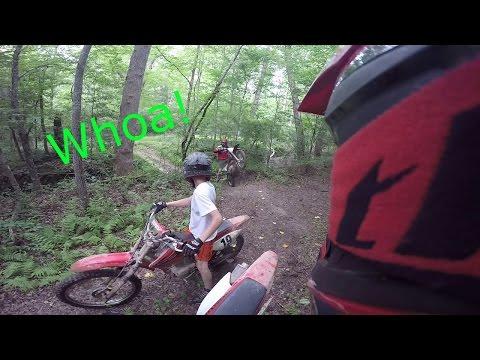 Dirt Bike riding new trails