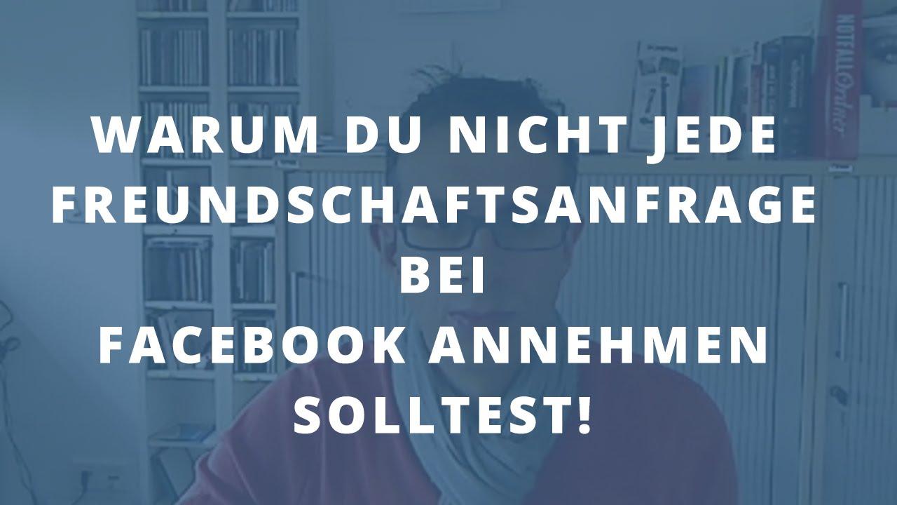 freundschaftsanfrage bei facebook