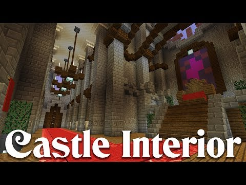 How To Build A Minecraft Castle Interior   Simple And Easy Design Tips!