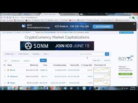 Episode 2A  Understanding MarketCap, Supply, Price, Volume & Percentage Change    13 June 2017