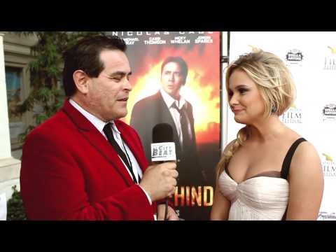 Cassi Thomson Interviewed at the Catalina Film Festival 2014