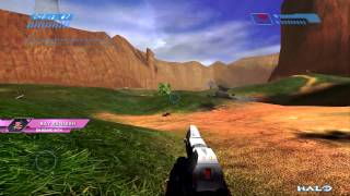 Halo CE - Big Team Battle Capture the Flag - Blood Gulch (XBOX ONE)
