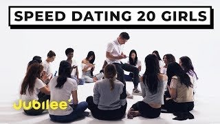 20 vs 1: Speed Dating 20 Girls | Jubilee x Solfa thumbnail
