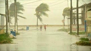 Historic storm leaves Cuba's northern coast submerged