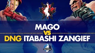Mago (Cammy) VS DNG Itabashi Zangief (Abigail) - Canada Cup 2019 Pools - CPT 2019