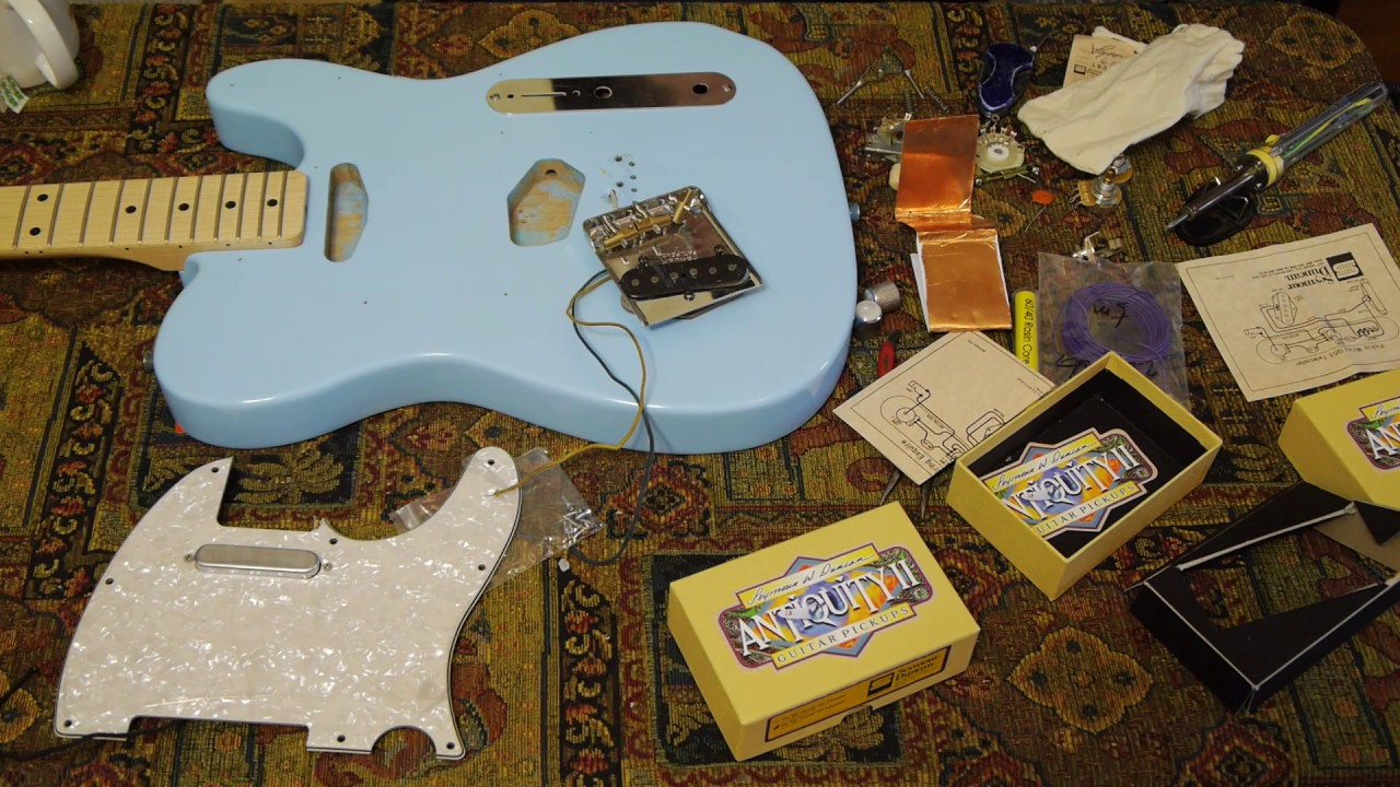 Telecaster Style Wiring Tutorial