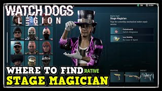 Watch Dogs Legion Stage Magician Location (Where To Find Stage Magician In Watch Dogs Location)